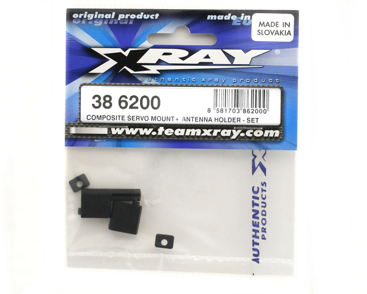 XRAY Composite Servo Mount+ Antenna Holder (Set)
