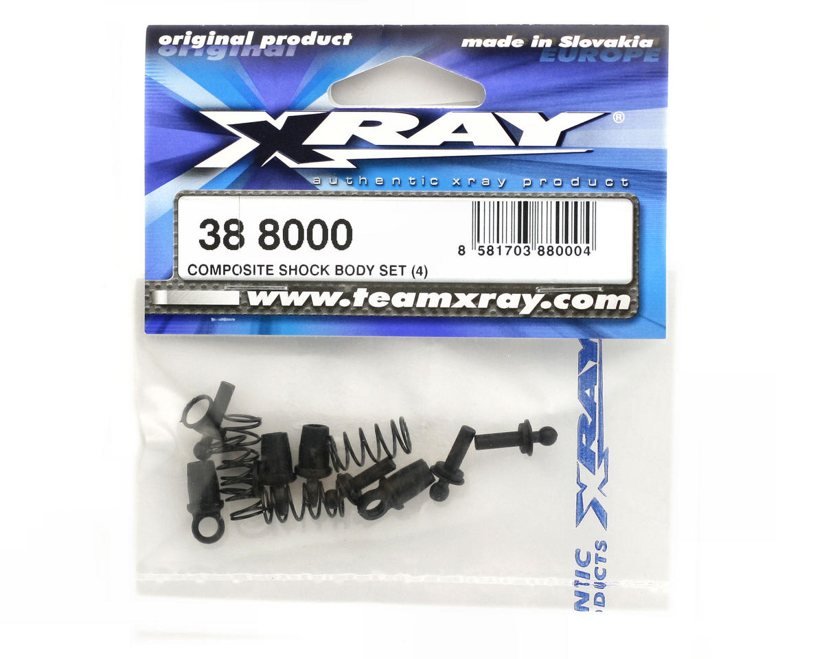 Composite Shock Body Set (4) by XRAY
