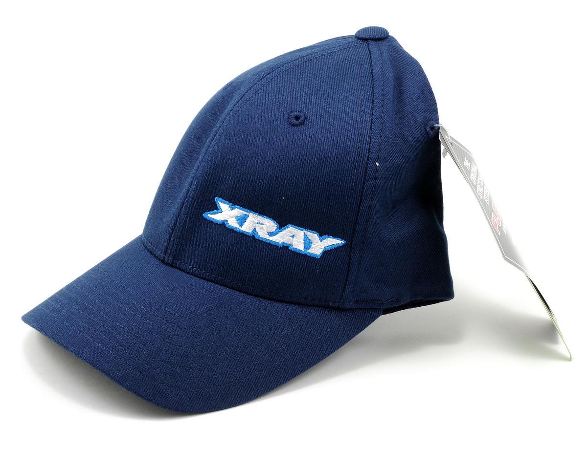 XRAY Flexfit Cap (Blue) (Blue) (S/M)