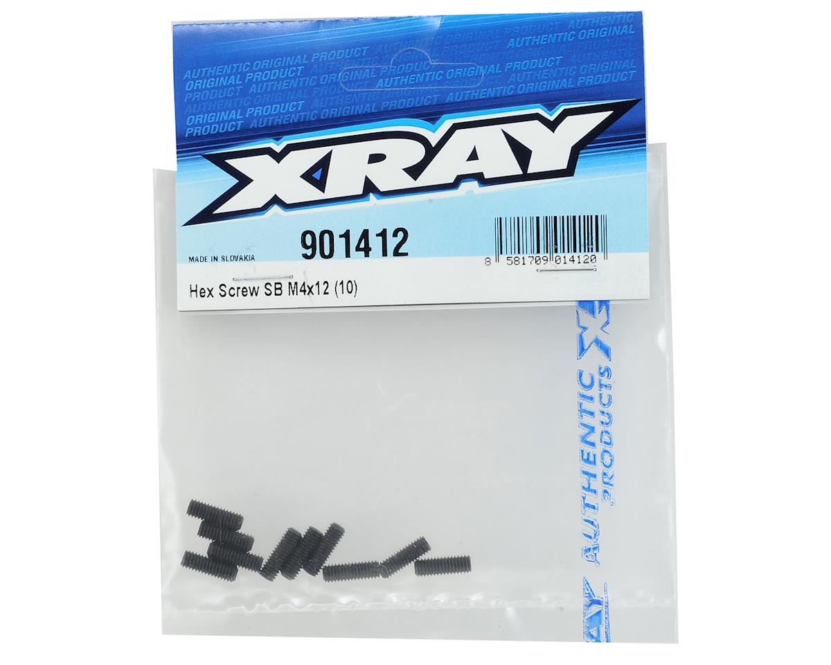 XRAY 4x12mm Hex Set Screw (10)
