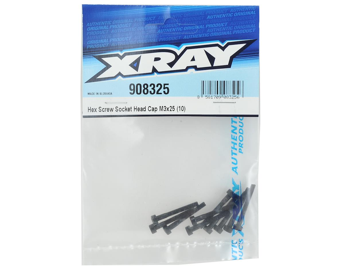XRAY 3x25mm Cap Head Hex Screw (10)