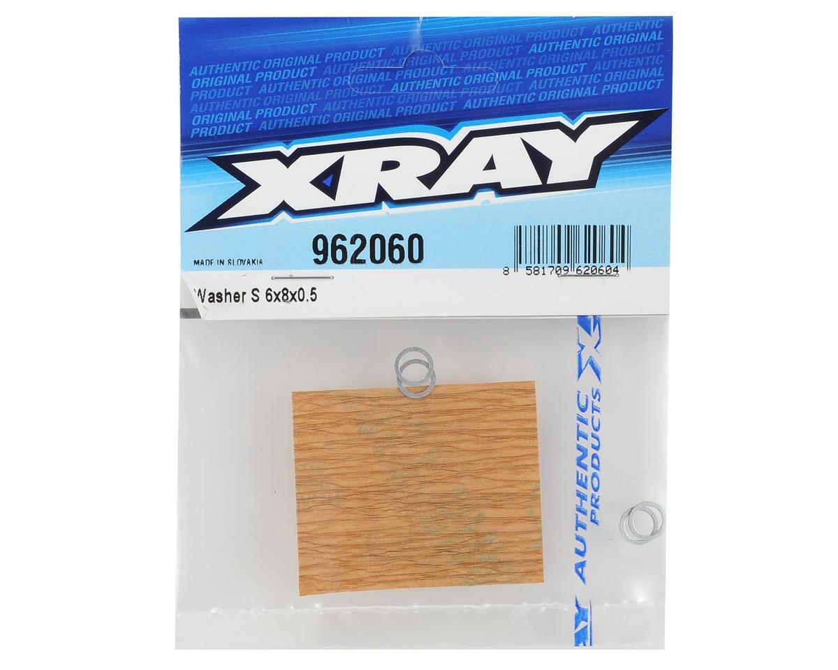 XRAY 6x8x0.5mm Washer (10)