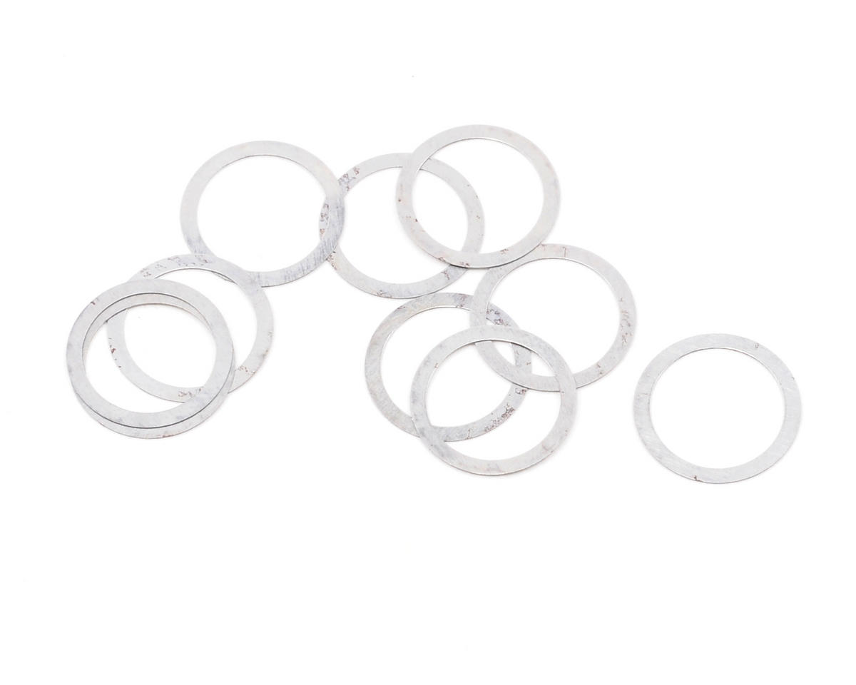 XRAY 8x10x0.2mm Washer (10)
