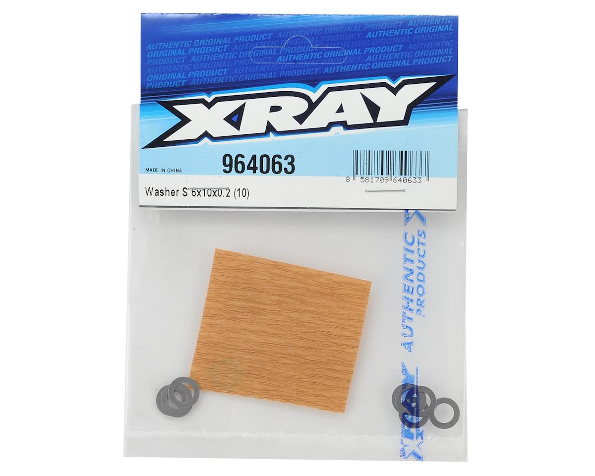 XRAY 6x10x0.2mm Washer (10)