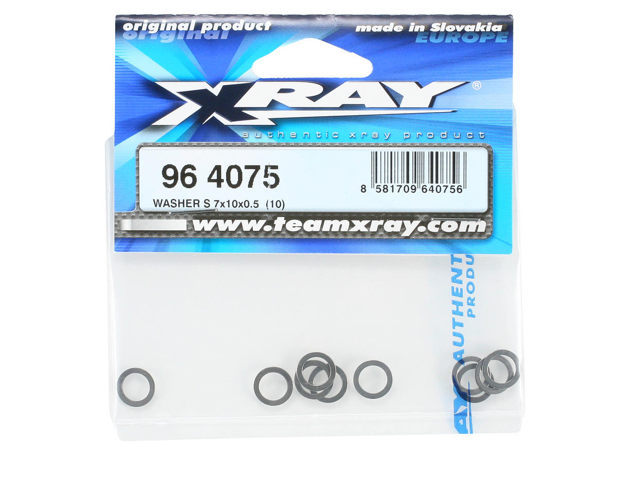 XRAY 7x10x0.5mm Washer (10)