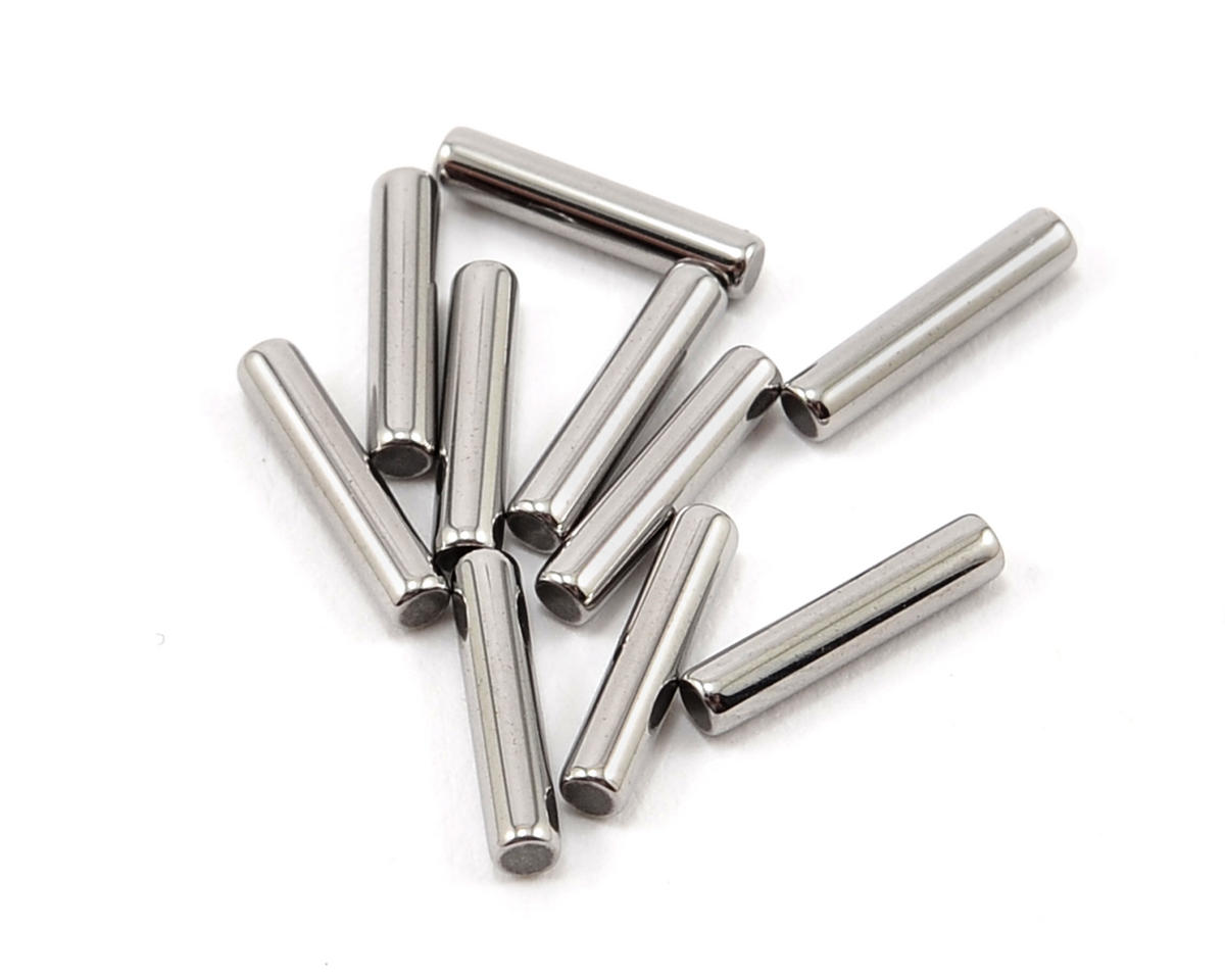 2x9.8mm Polished Chrome Pin (10) by XRAY