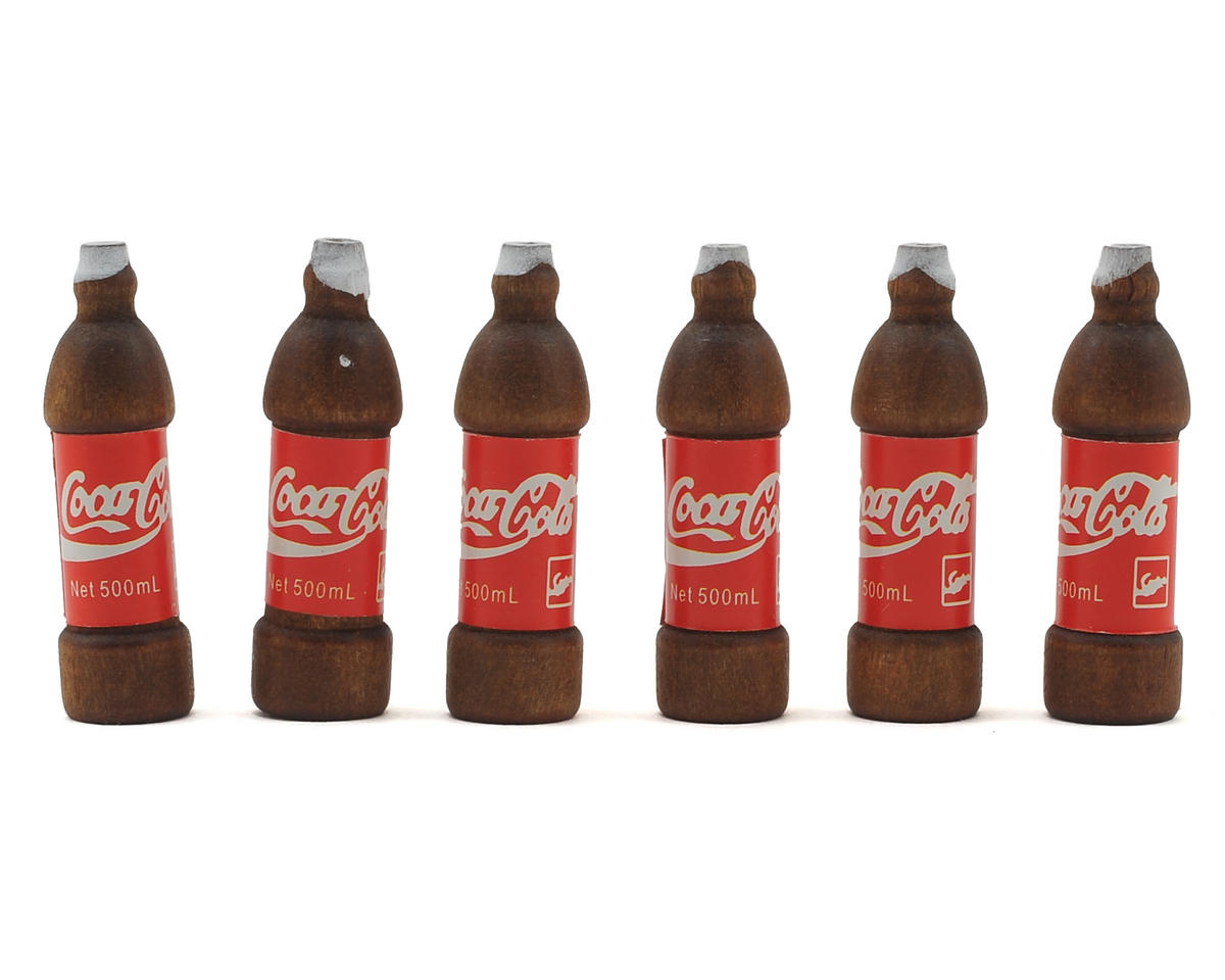 1/10 Scale Crawler Soda Bottles (6) by Xtra Speed