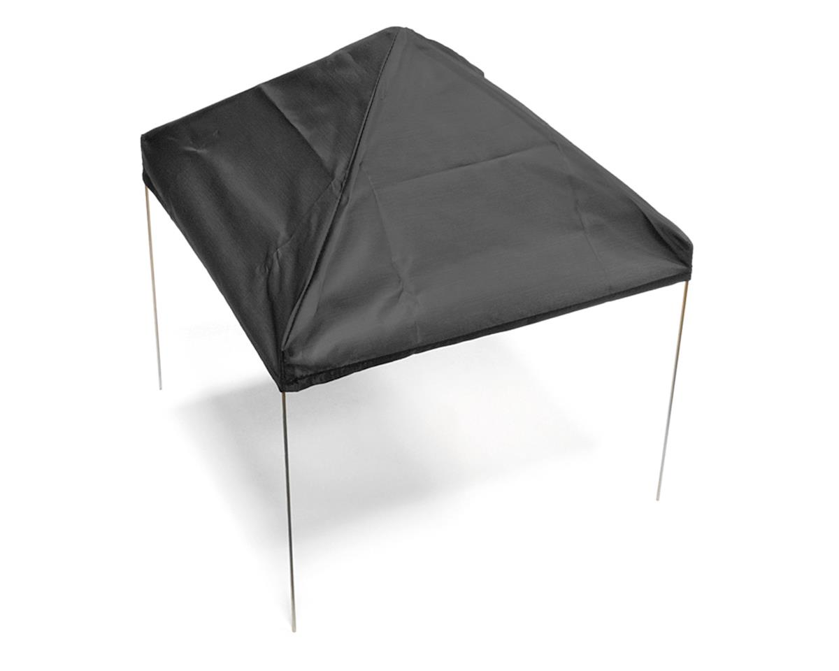 Xtra Speed 1/10 Scale Fabric Canopy Pit Tent (Black)