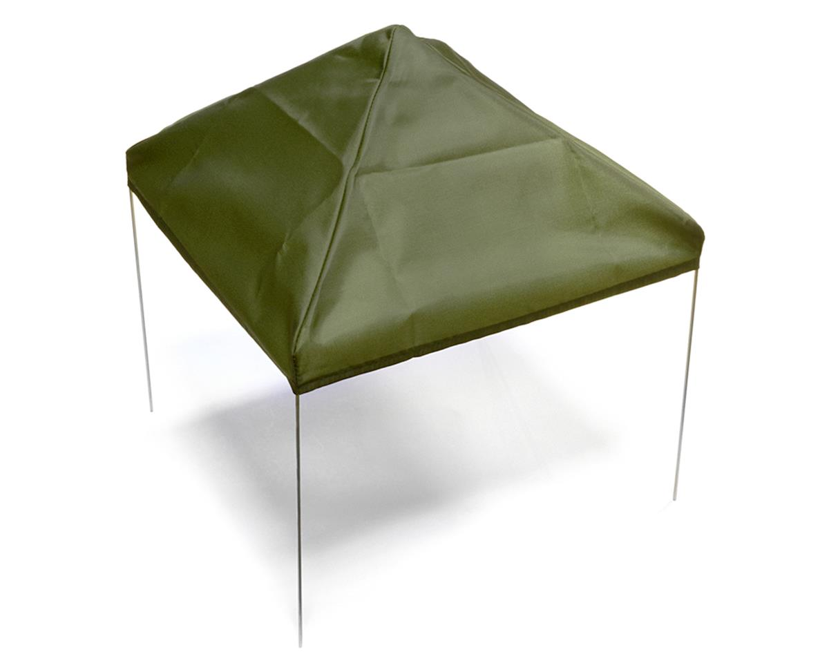 1/10 Scale Fabric Canopy Pit Tent (Green) by Xtra Speed