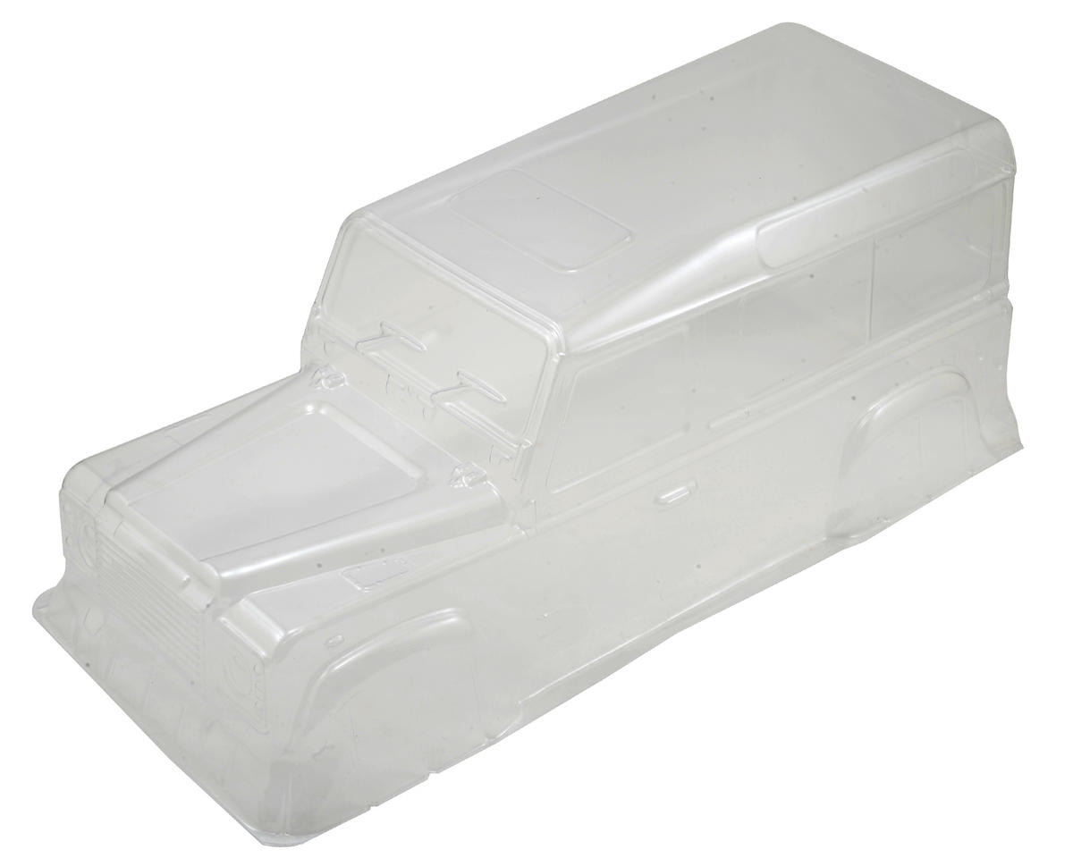 330mm Defender D110 Lexan Crawler Body (Clear) by Xtra Speed