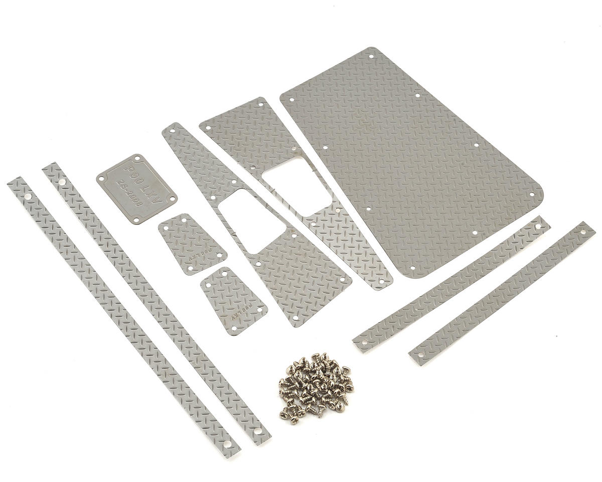 Xtra Speed D90/D110 Diamond Plate Body Accessory Set