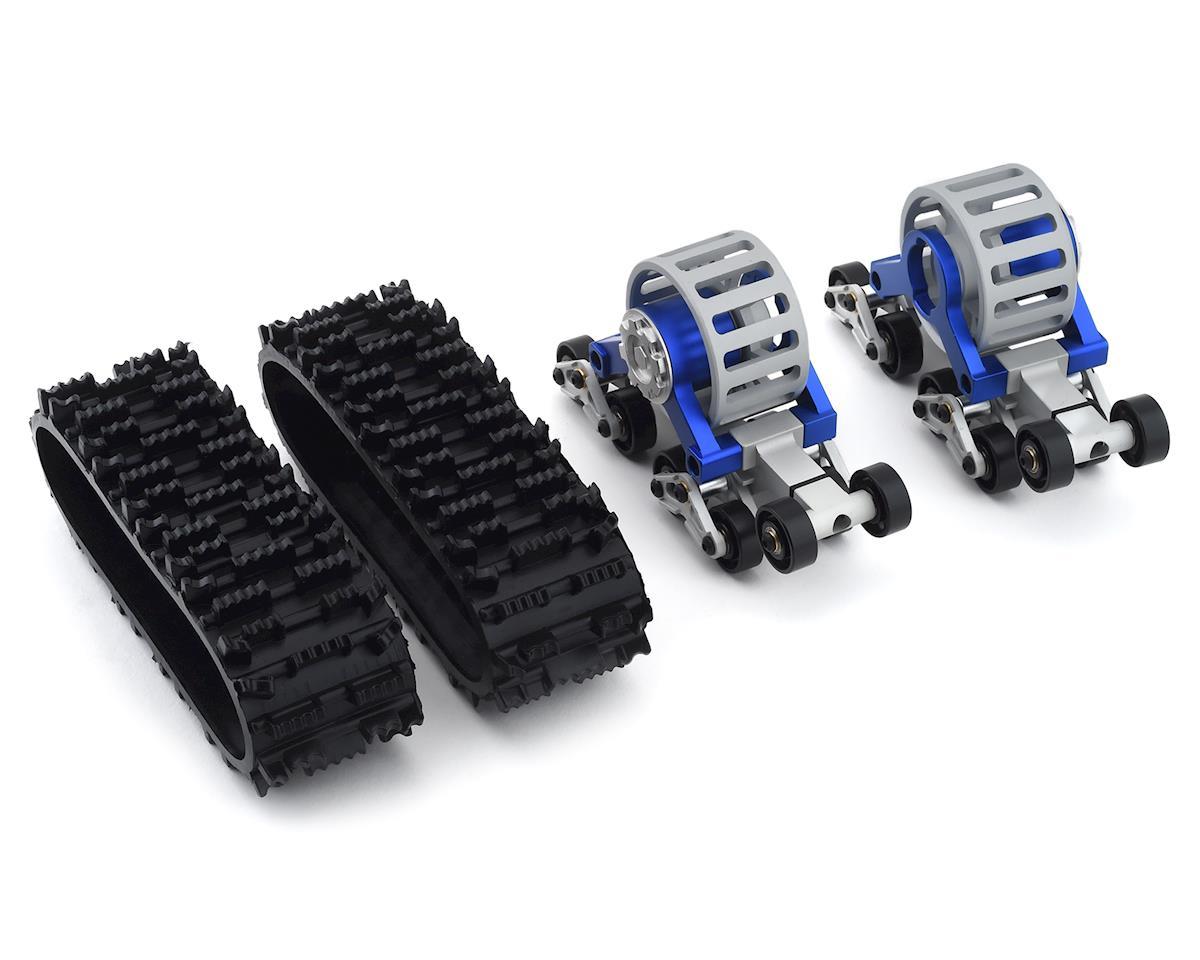 Xtra Speed SCX10 Tanky All Terrain Tracks (2) (Blue)