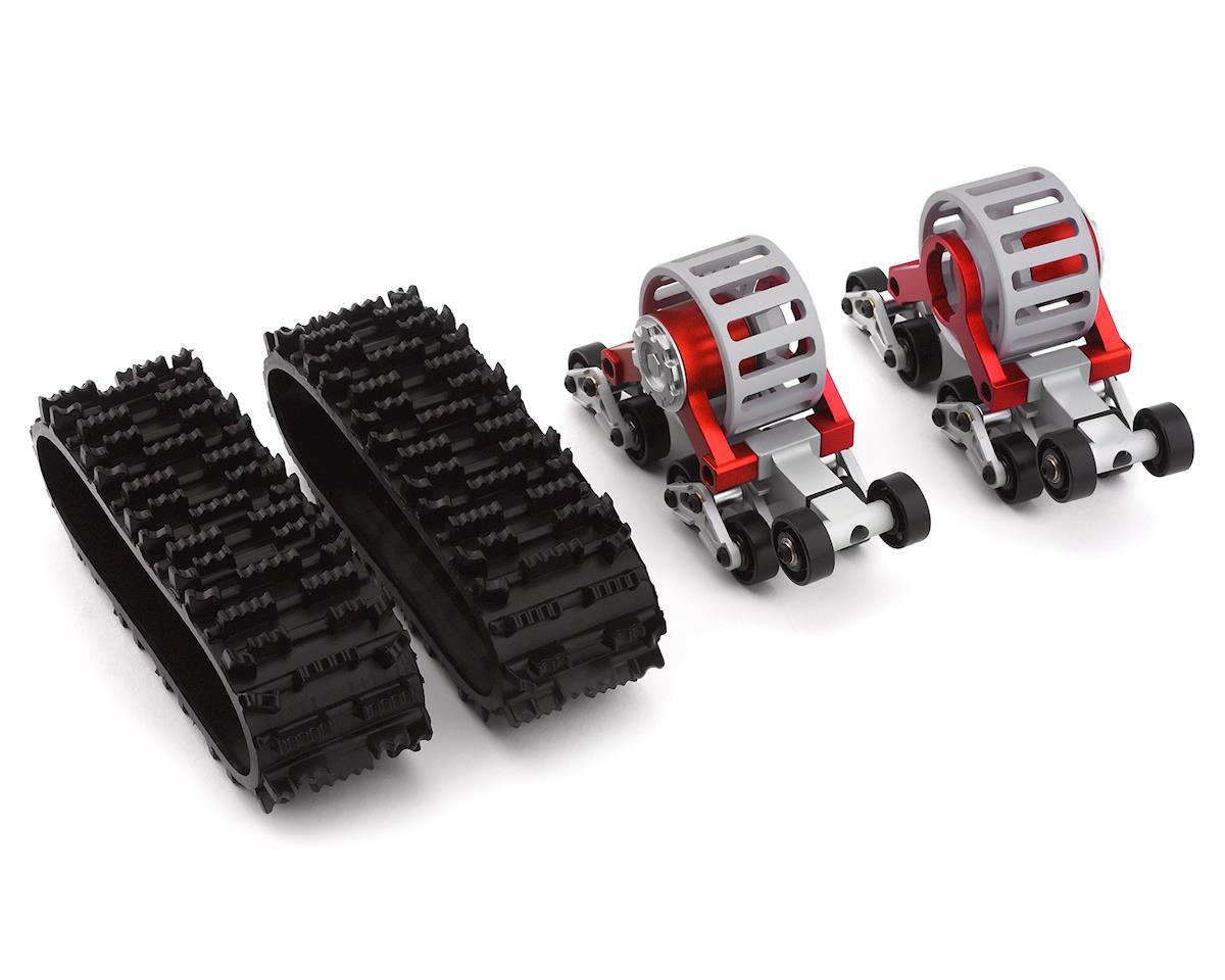 Xtra Speed SCX10 Tanky All Terrain Tracks (2) (Red)