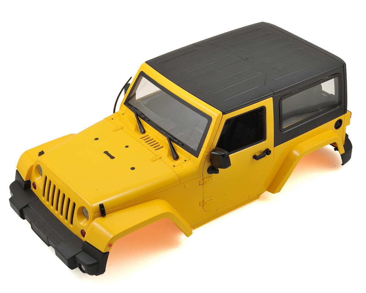 1/10 Plastic Hardtop Scale Crawler Hard Body (Yellow) (275mm) by Xtra Speed