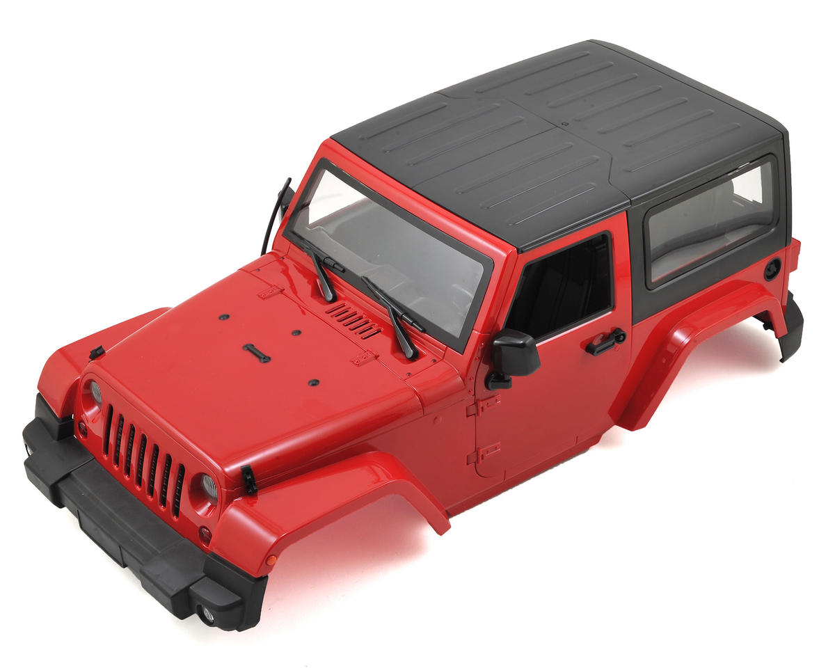 1/10 Plastic Hardtop Scale Crawler Hard Body (Red) (275mm) by Xtra Speed