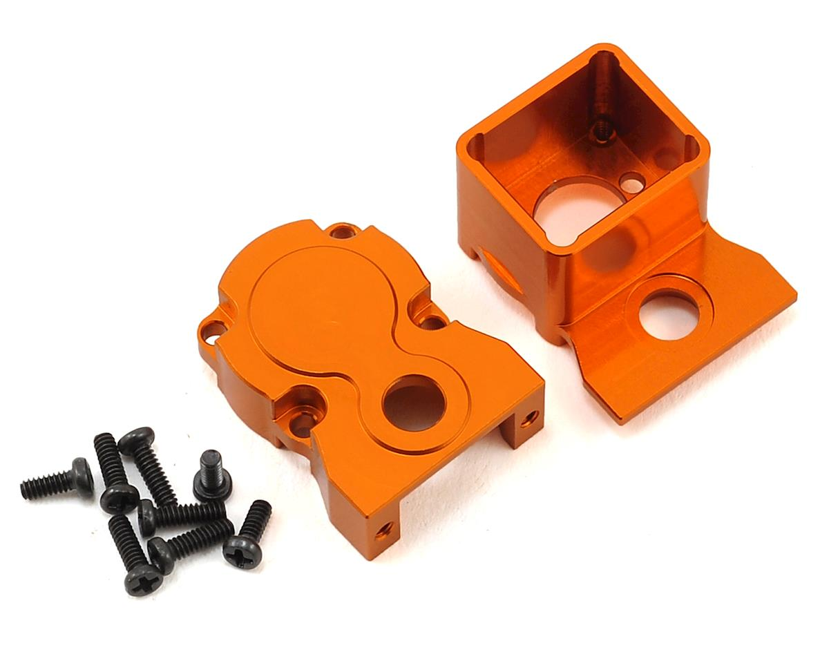 Orlandoo Hunter 35A01 Aluminum Gear Box Housing (Orange) by Xtra Speed