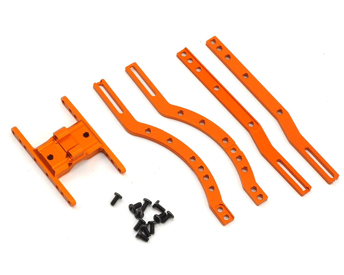 Xtra Speed Orlandoo Hunter 35A01 Aluminum Chassis Set (Orange)