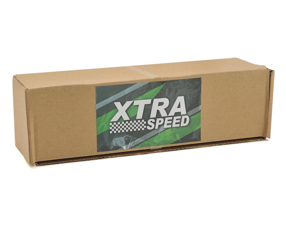 Xtra Speed SCX10 II XR-D Assembled Aluminum CNC Front Axle (Black)