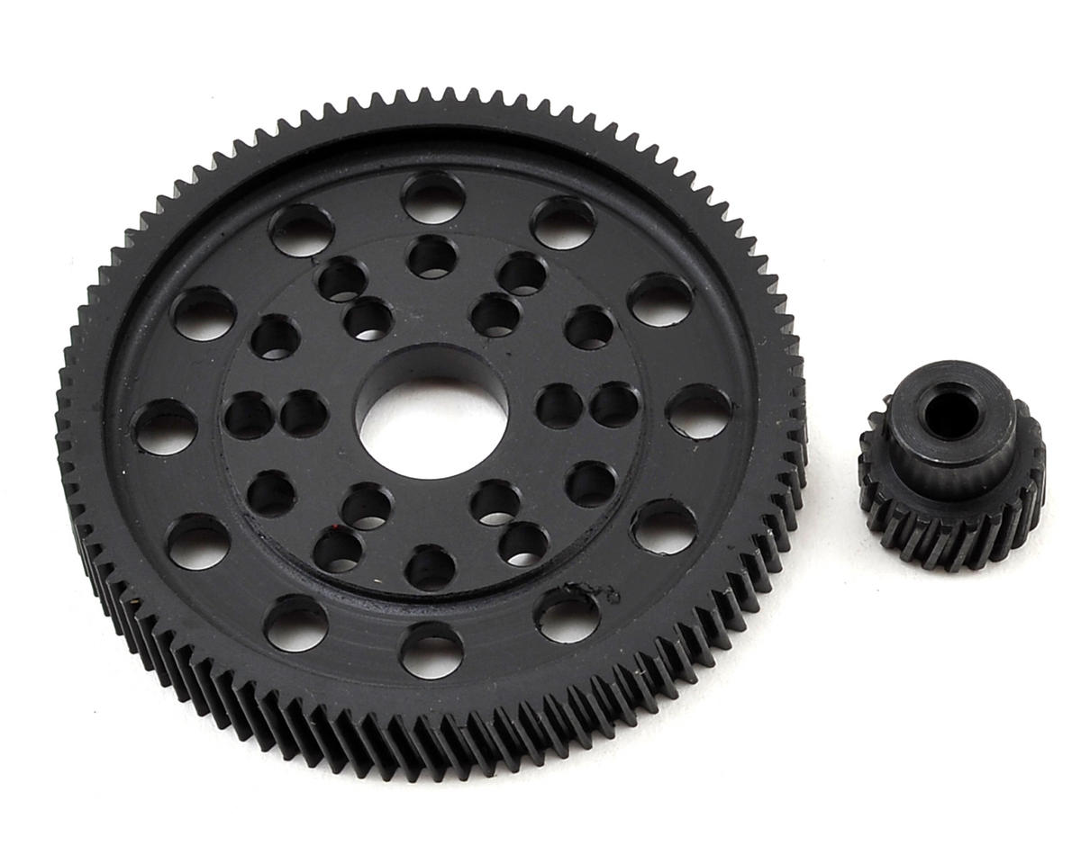 SCX10/Wraith Delrin Helical Spur & Pinion Gear Set (92/20T)