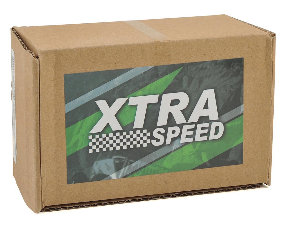 Xtra Speed SCX10 II Kit Aluminum Transmission Assembly (Black)