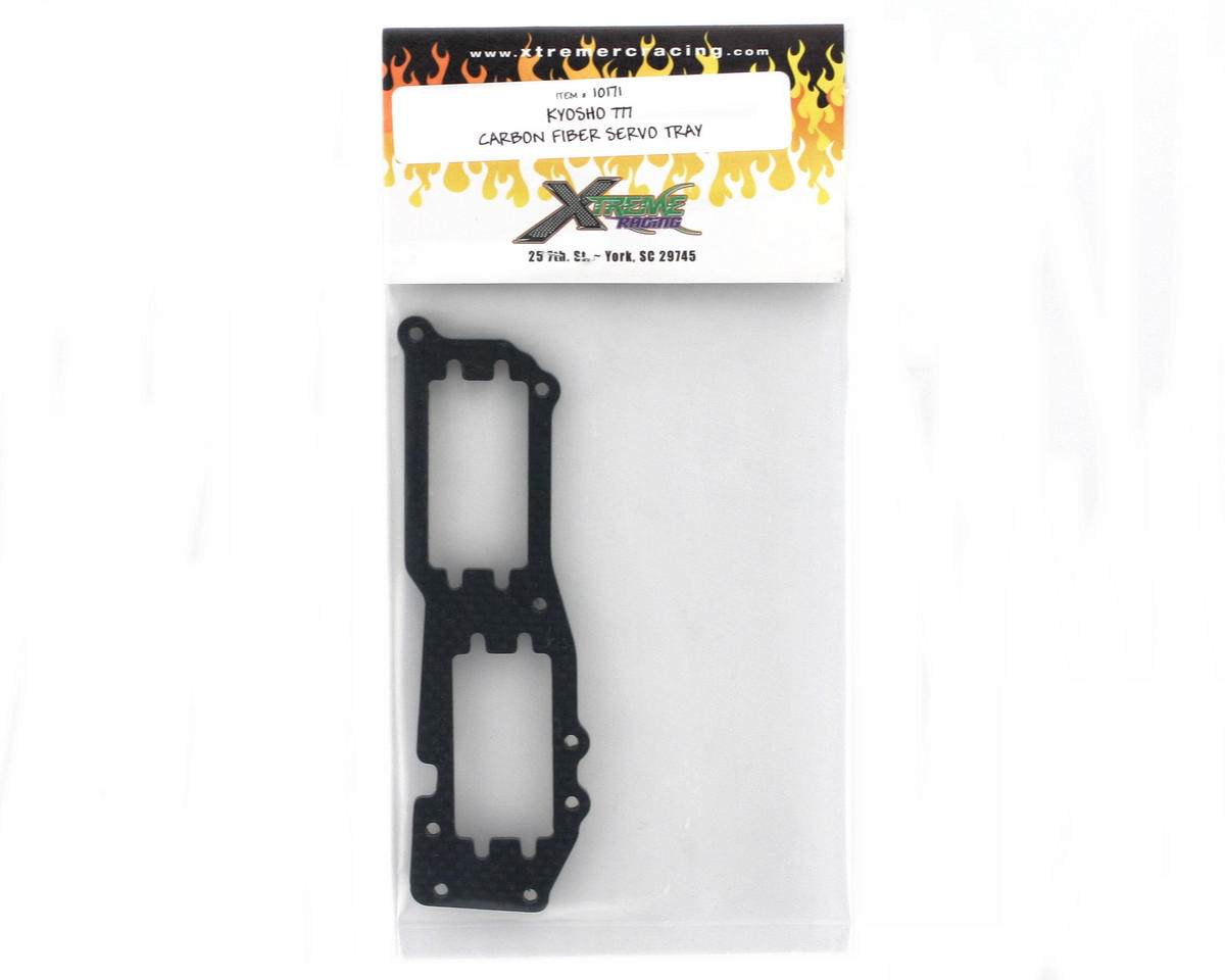 Xtreme Racing Kyosho MP777 Carbon Fiber Servo Tray