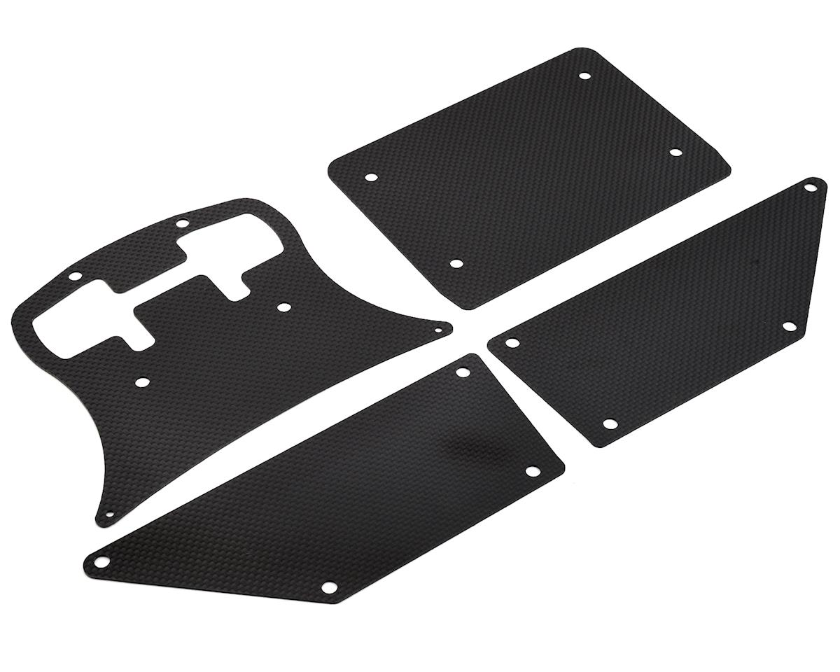 Xtreme Racing Rock Rey Carbon Fiber Body Panel Set