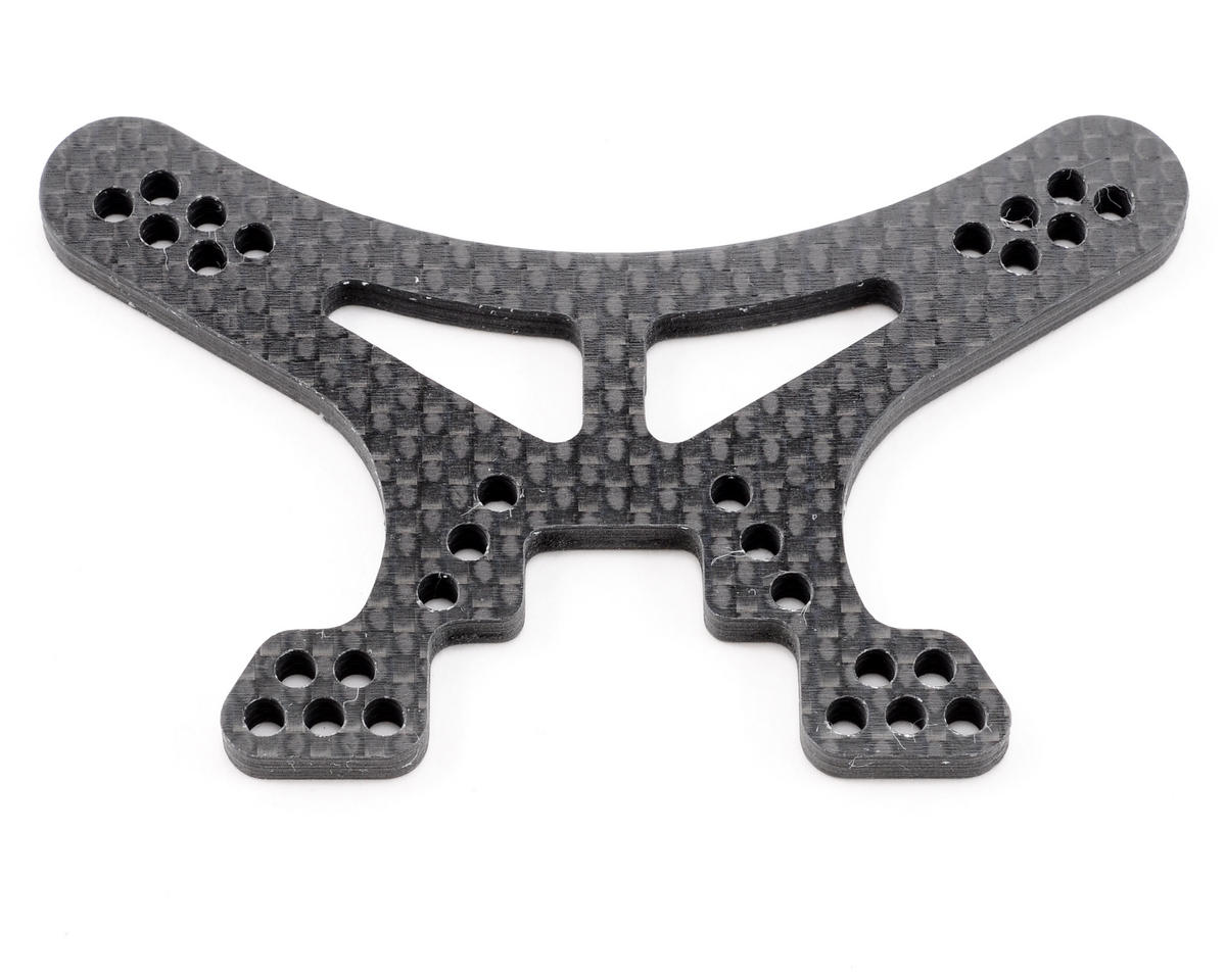 Xtreme Racing Losi XXX-4 Thick Black Carbon Fiber Front Shock Mount