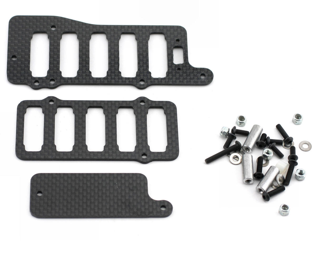Xtreme Racing Traxxas Revo Carbon Fiber Low C/G Battery Tray Kit