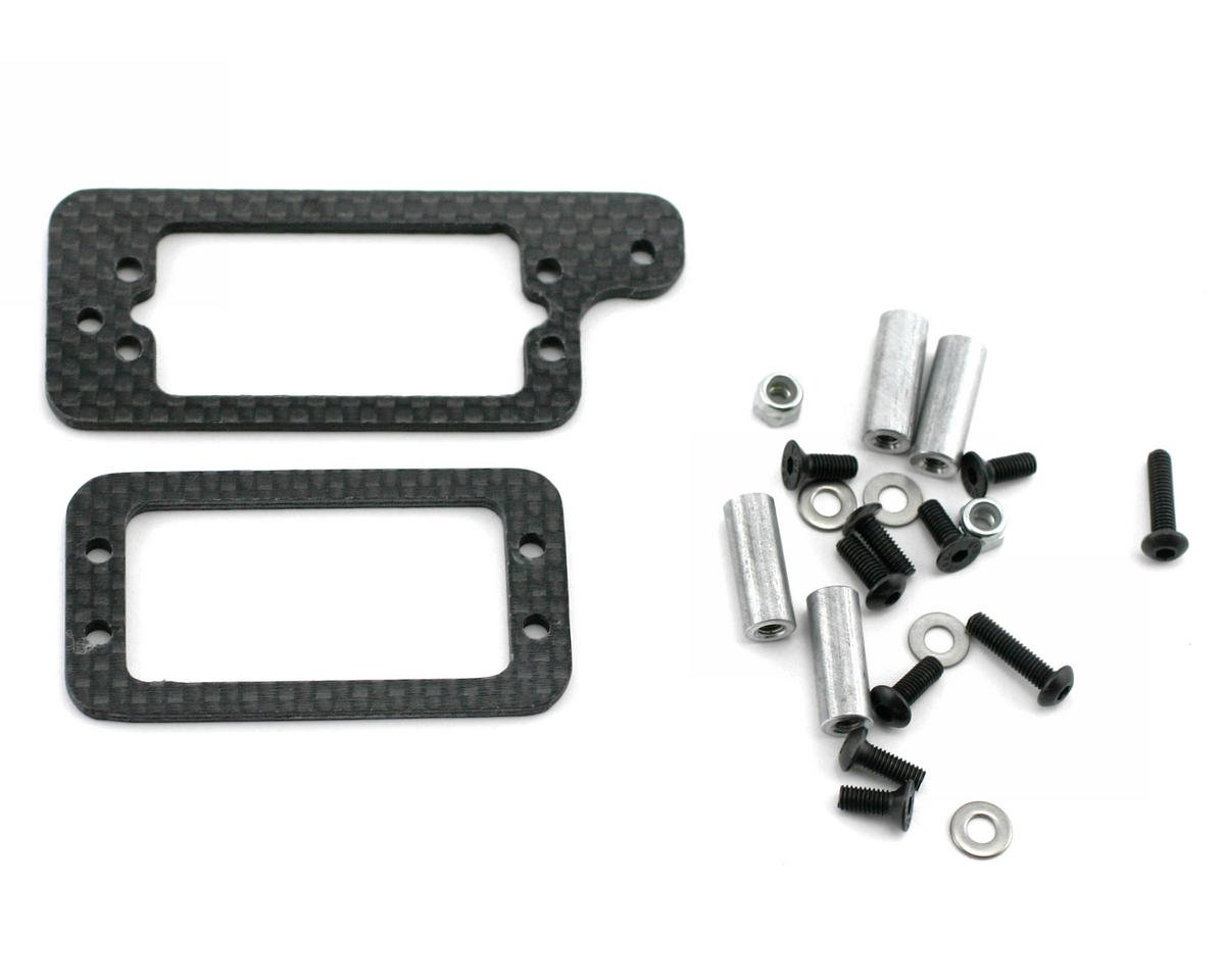 Xtreme Racing Traxxas Revo Carbon Fiber Throttle Mount Kit