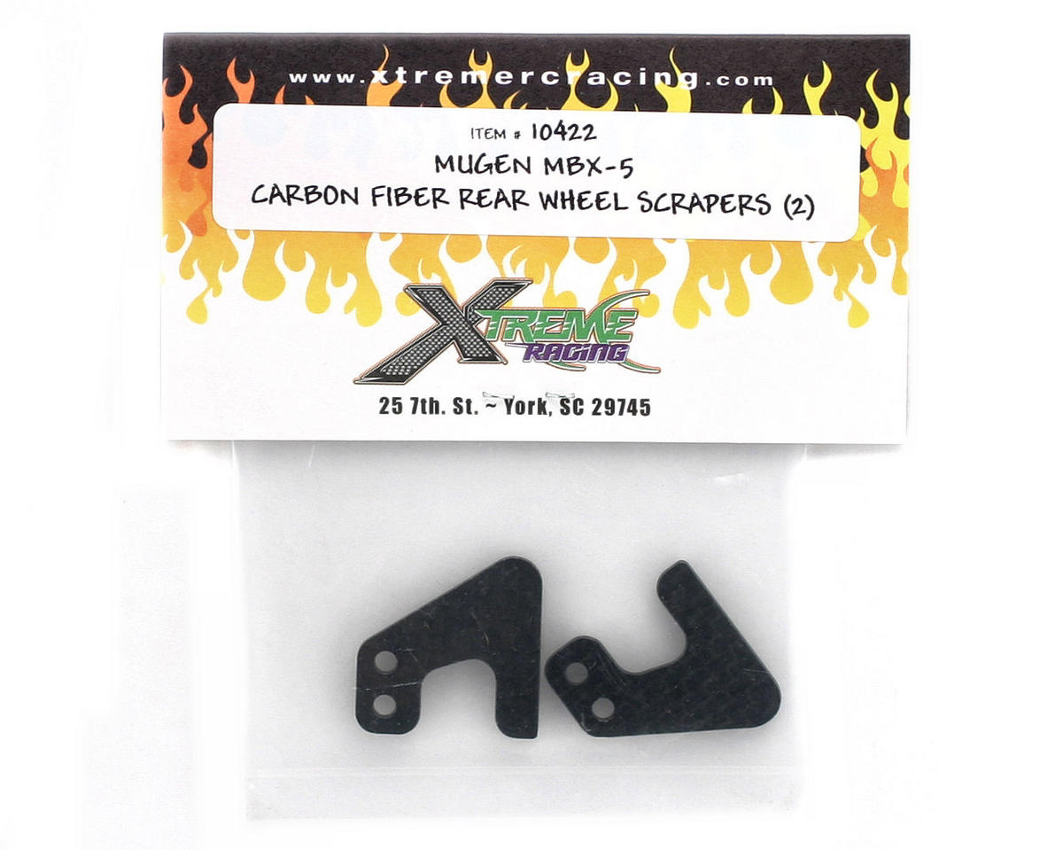 Xtreme Racing Mugen MBX5 Carbon Fiber Rear Wheel Scraper (2)