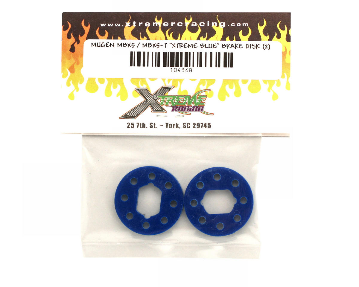 Xtreme Racing BX5-T Xtreme Blue Brake Disks (2)