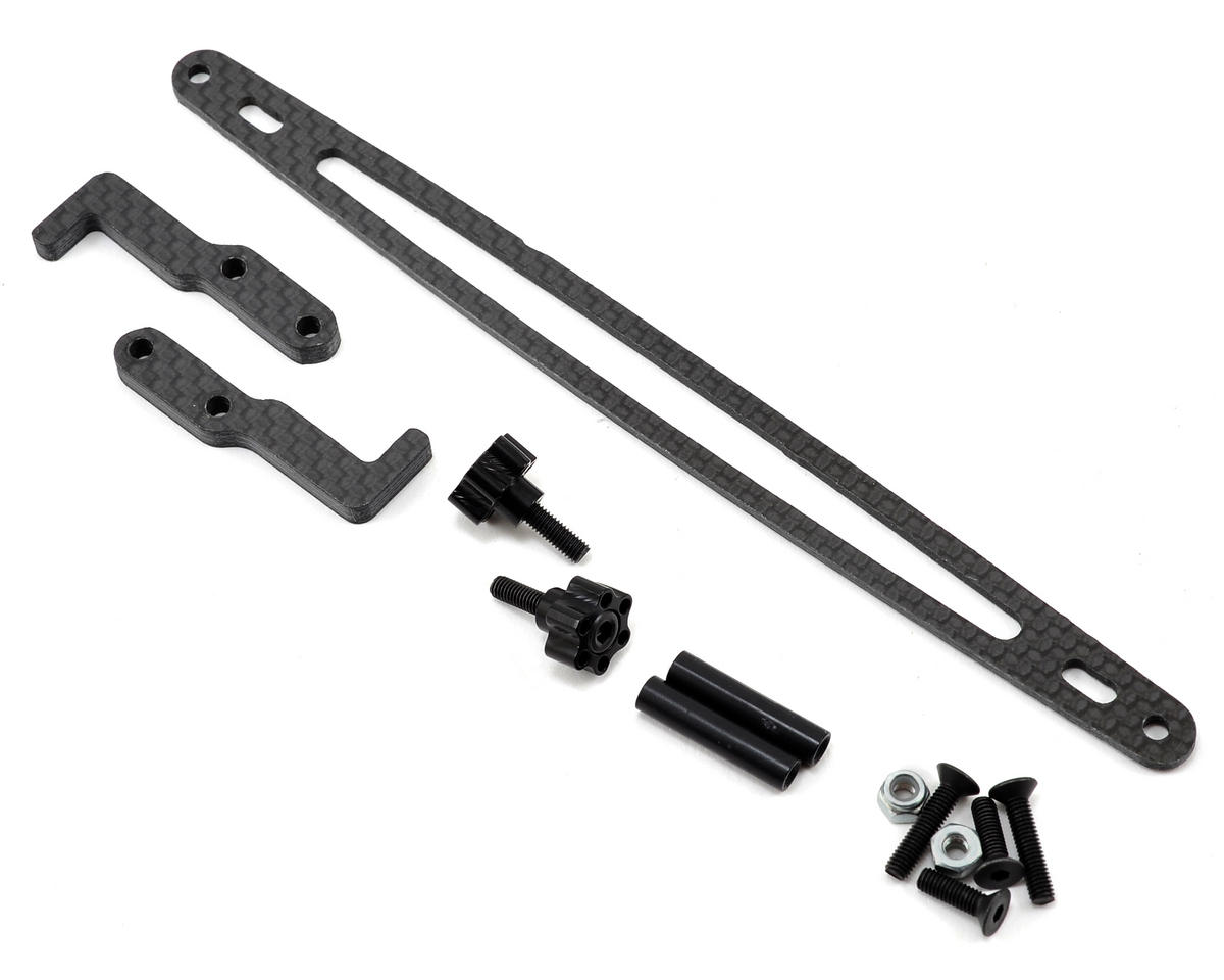 XRAY T4 Carbon Fiber Battery Hold Down Kit by Xtreme Racing