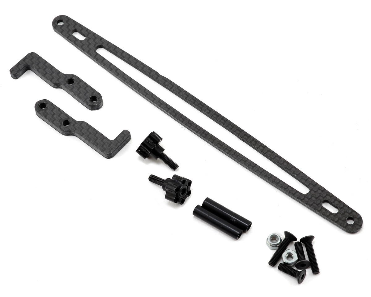 XRAY T4 Carbon Fiber Battery Hold Down Kit