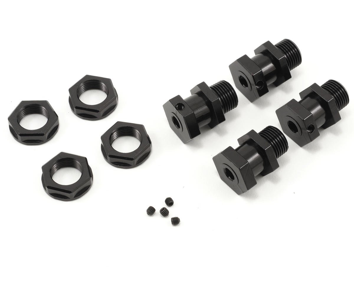 Xtreme Racing Slash 4x4 17mm Wheel Adapter Set (Black) (4)