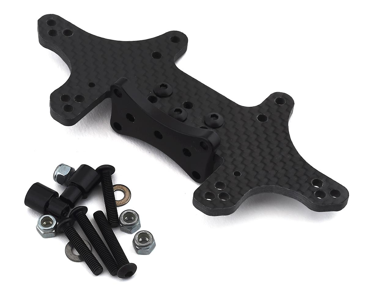 Xtreme Racing Traxxas Rustler/Slash 3mm Carbon Fiber Drag Rear Shock Tower