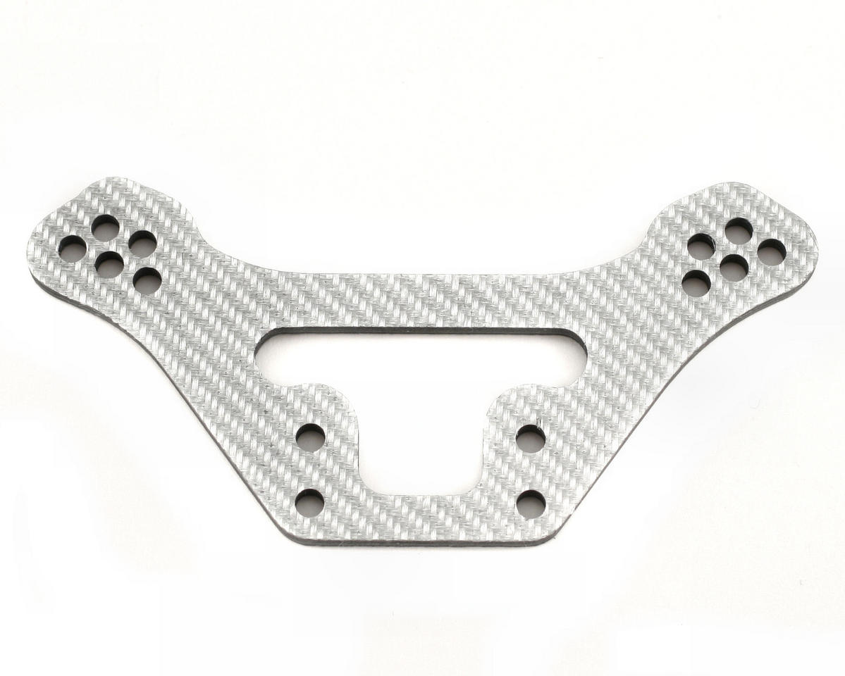 Xtreme Racing Kyosho Lazer Silver Carbon Fiber Front Shock Tower