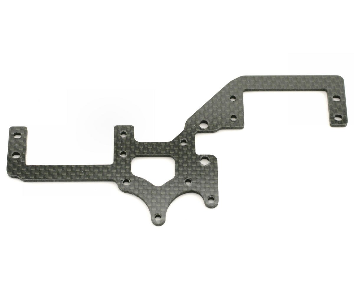 Xtreme Racing Team Losi 8ight Carbon Fiber Servo Tray Support (Black)