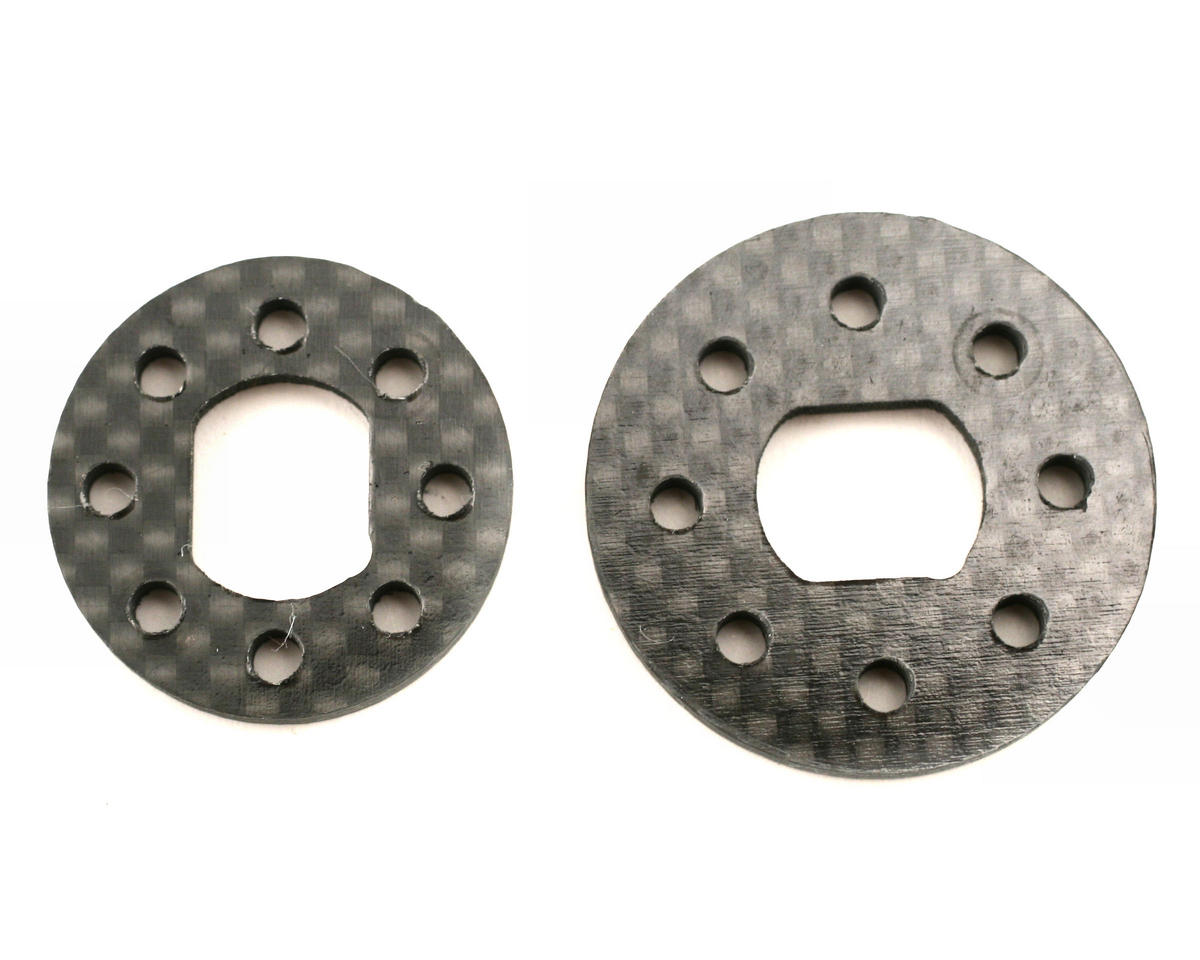 Xtreme Racing Team Losi 8ight Carbon Fiber Brake Disks (2)
