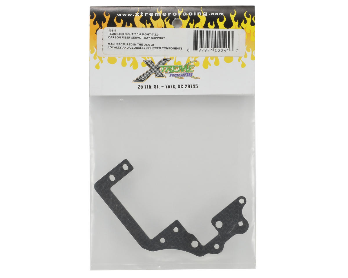 Xtreme Racing 2.5mm Carbon Fiber Servo Tray Support