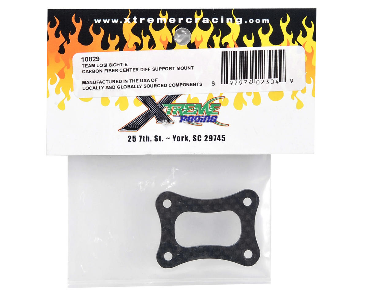 Xtreme Racing Carbon Fiber Center Differential Support Mount