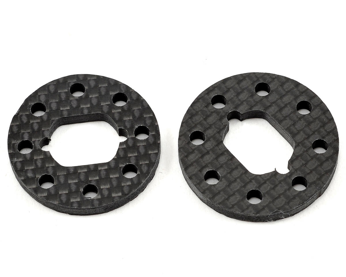 Team Losi 8Ight 3.0 Carbon Fiber Brake Disk (2) by Xtreme Racing