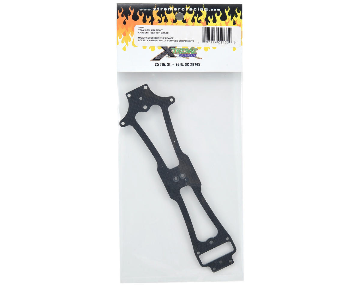 Xtreme Racing 2mm Carbon Fiber Top Brace