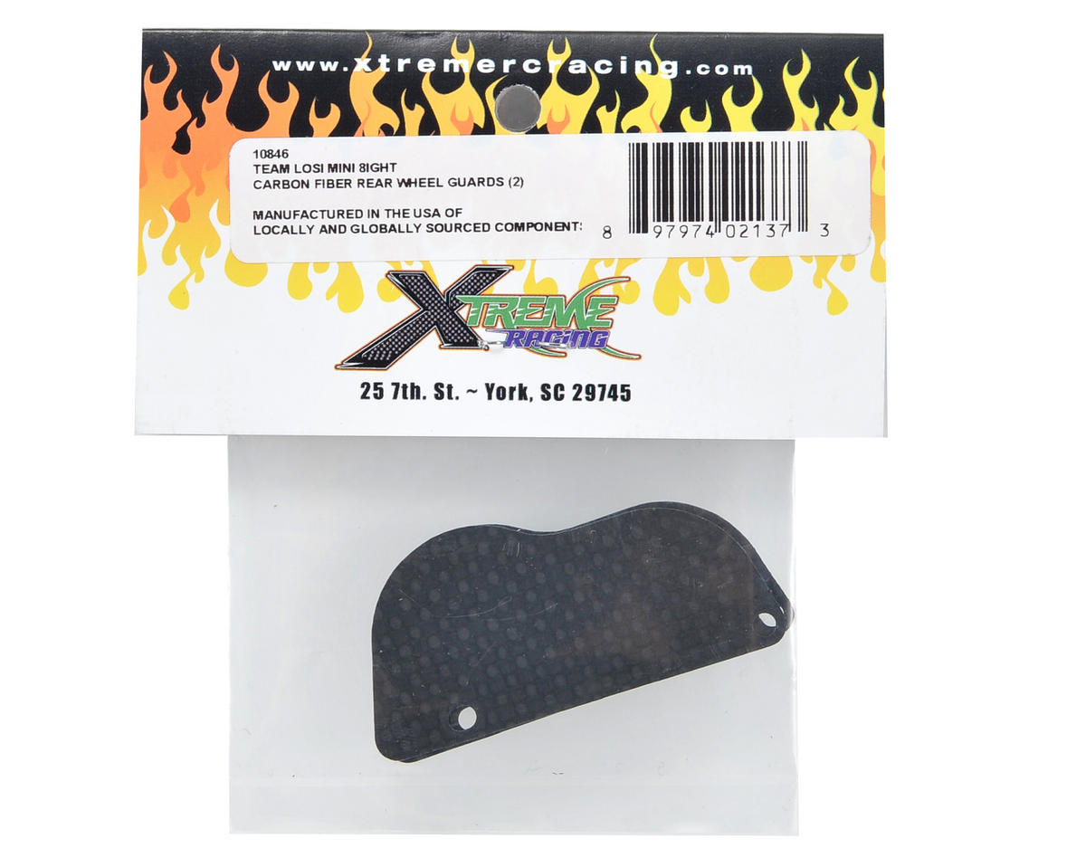Xtreme Racing Carbon Fiber Rear Wheel Guard Set (2)