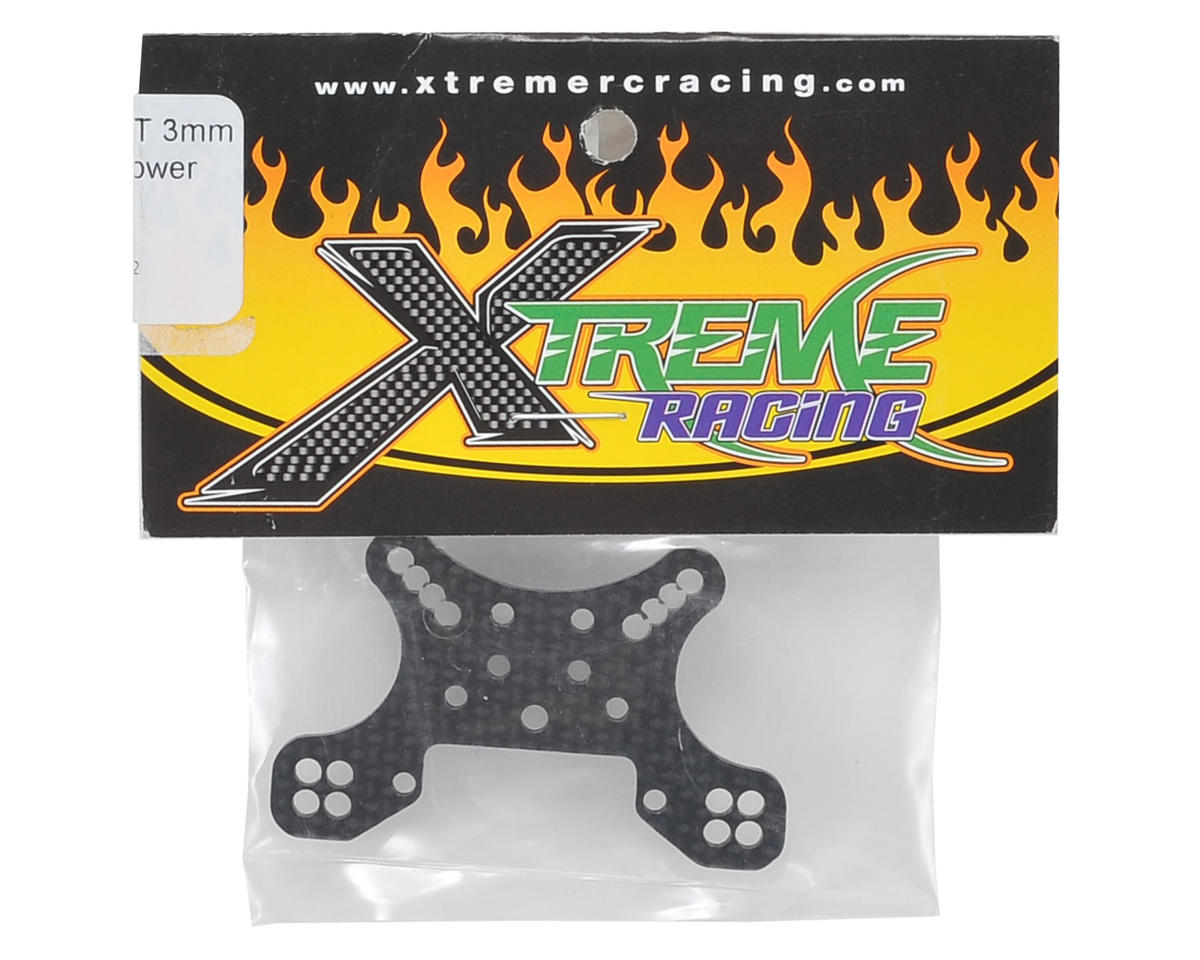 Xtreme Racing 3mm Mini 8IGHT-T Carbon Fiber Front Shock Tower