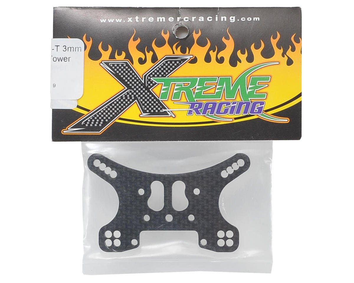 Xtreme Racing 3mm Mini 8IGHT-T Carbon Fiber Rear Shock Tower