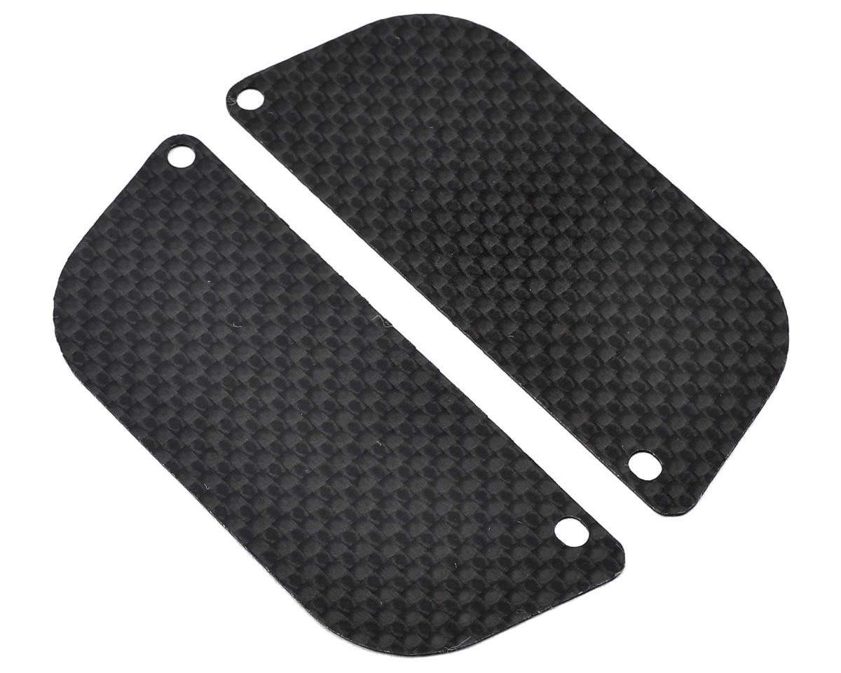 Xtreme Racing Losi Mini 8IGHT-T Carbon Fiber Rear Wheel Guard (2)