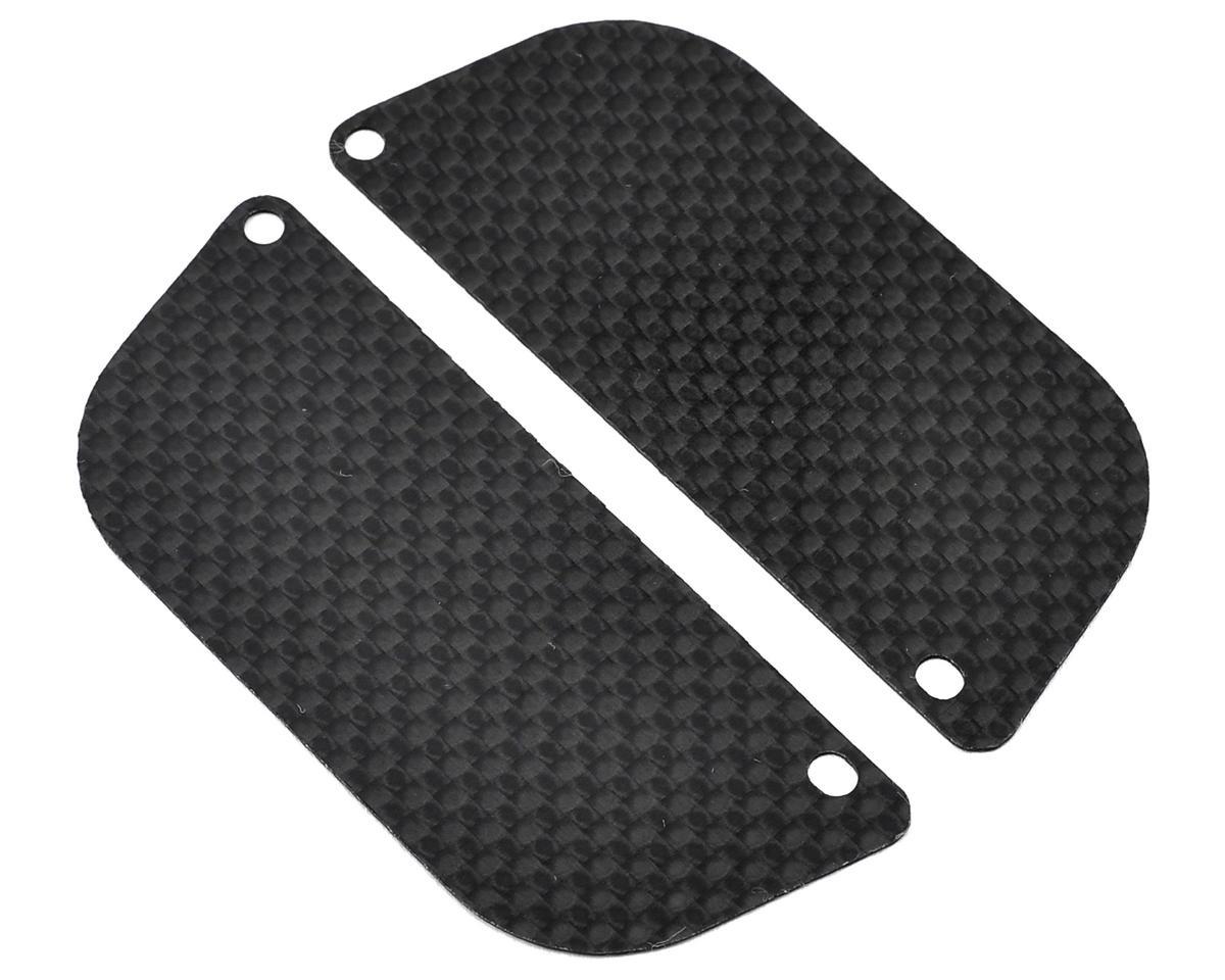 Mini 8IGHT-T Carbon Fiber Rear Wheel Guard (2) by Xtreme Racing