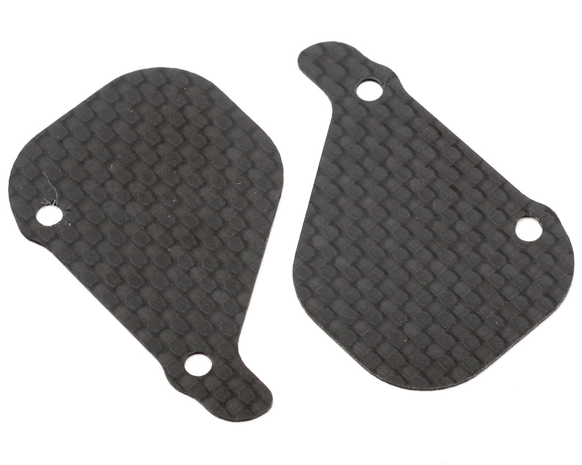 Xtreme Racing Losi 22 Carbon Fiber Mud Guard Set (Black)