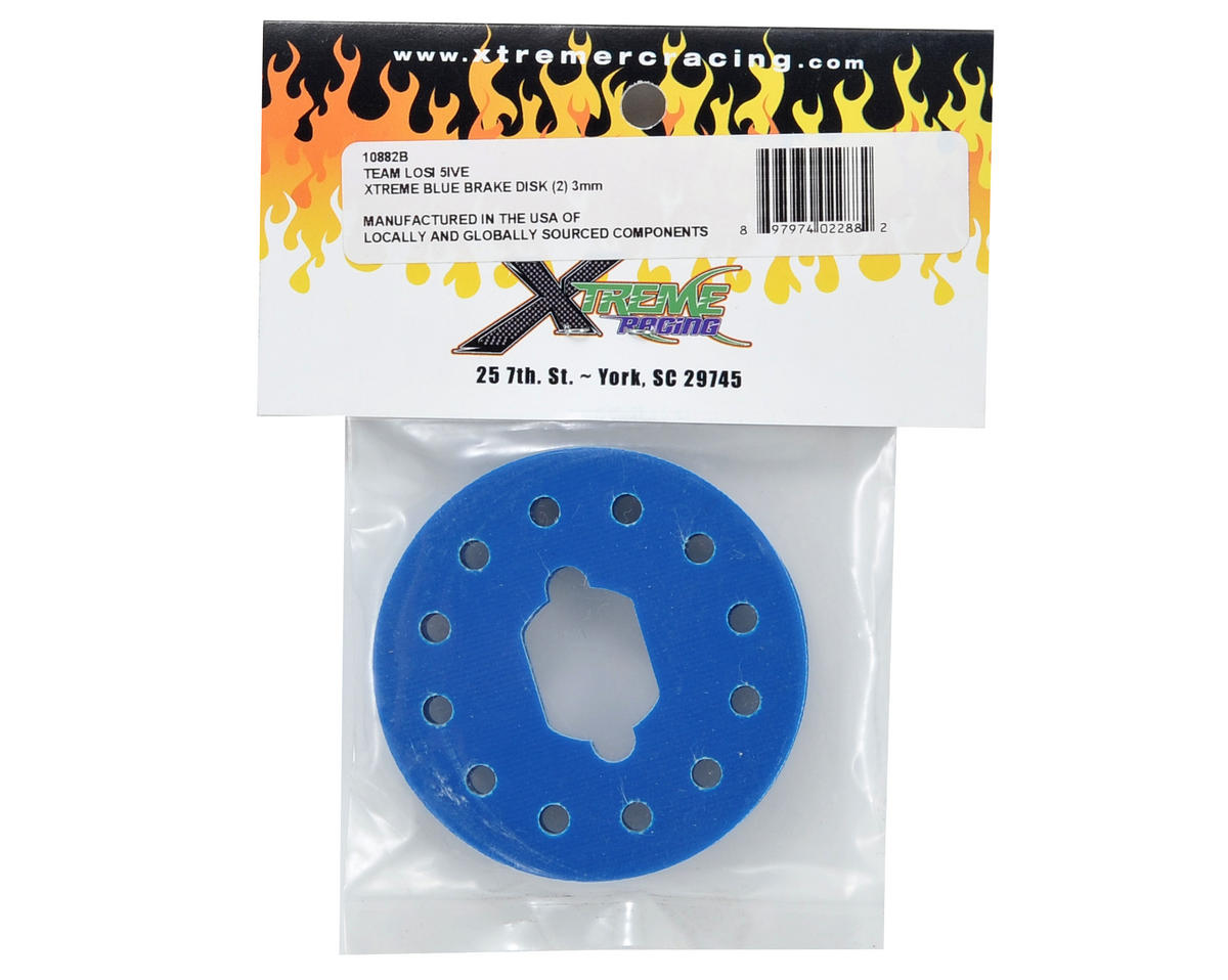 ke Disk Set (Xtreme Blue) (2) by Xtreme Racing
