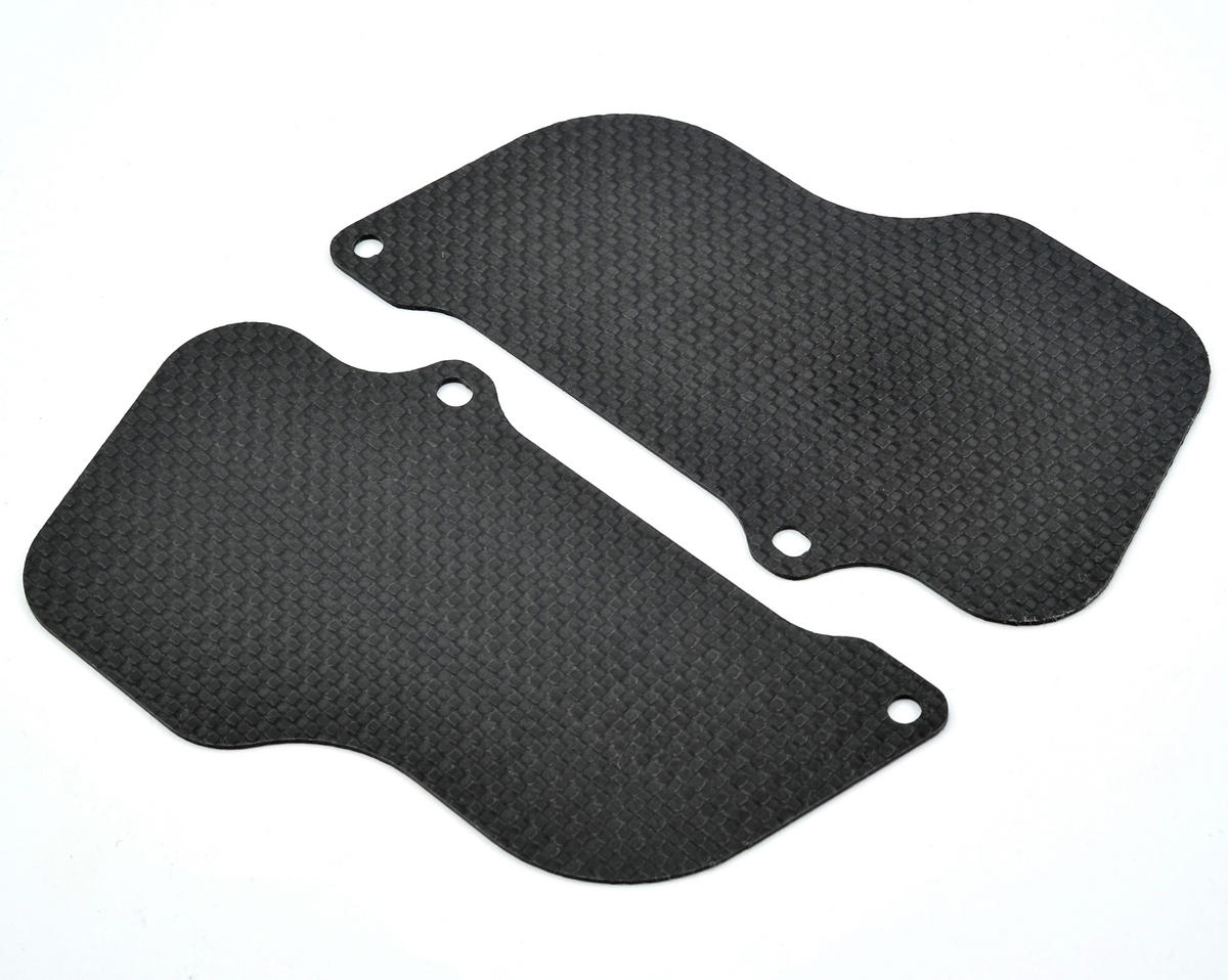 Xtreme Racing 1.2mm Carbon Fiber Rear Wheel Mud Guard Set (2) (Losi 5IVE-T)